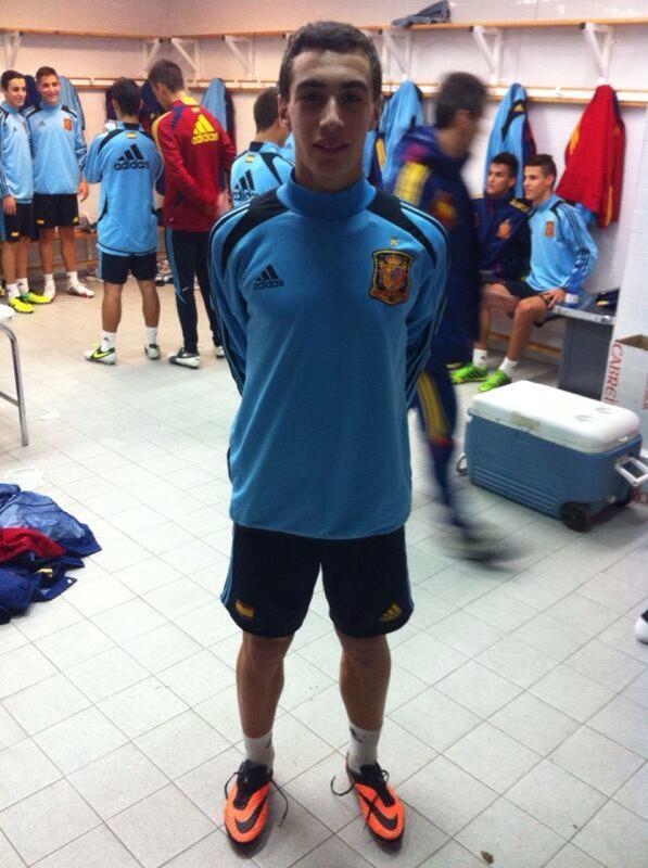 Jon Sillero con la selección sub´16 española | Foto: twitter @silleroathletic