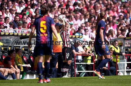 Último Athletic - Barcelona en San Mamés | Foto: Unai Zabaleta