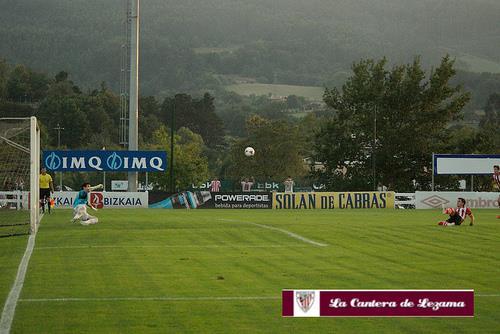 Aketxe falló un penalty la temporada pasada | Foto: Unai Zabaleta