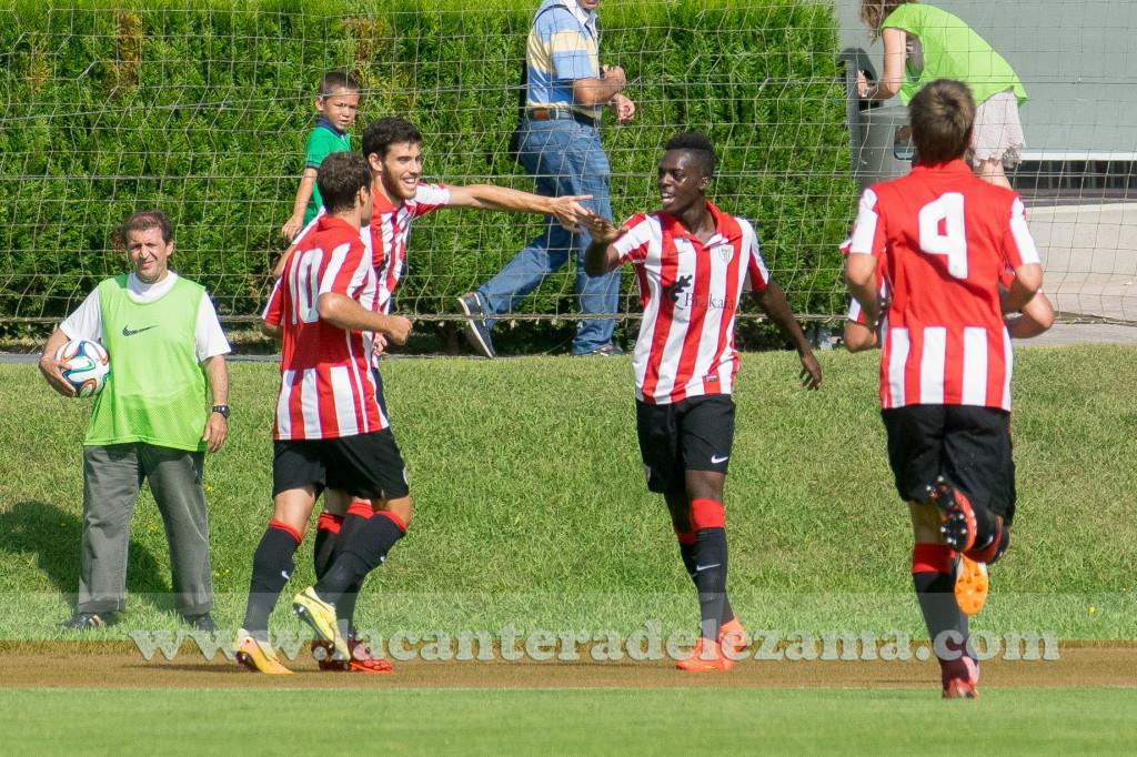 Williams celebra su primer gol | Foto: Unai Zabaleta