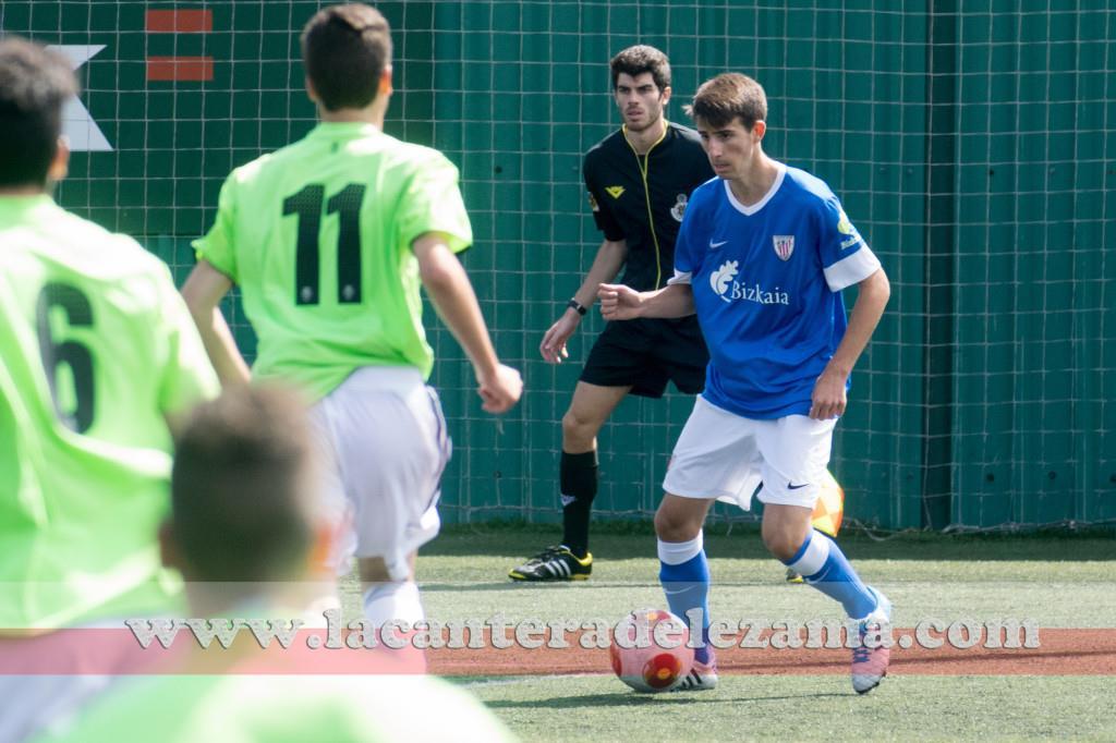 Parra autor del 2-0 ante la SD Eibar | Foto: Unai Zabaleta