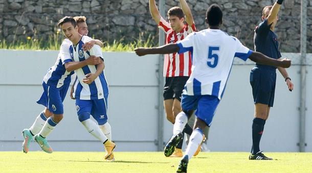 El Oporto celebra uno de los goles | Foto: fcporto.pt