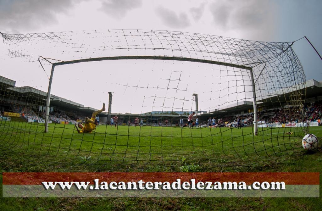 Gol de Iñigo Vicente | Foto: Unai Zabaleta