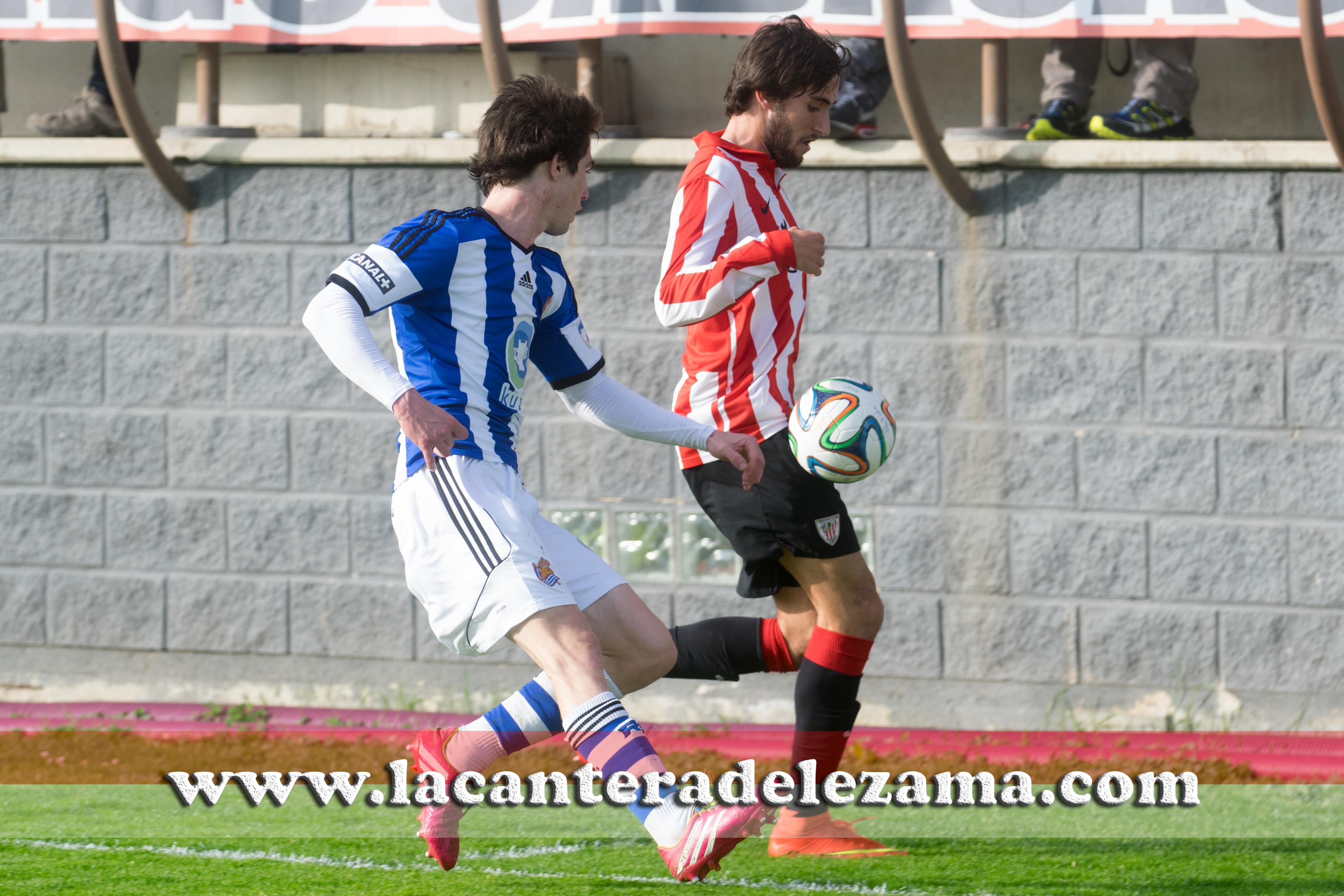 Jorge Garcia, máximo anotador ante la Real B | Foto: Unai Zabaleta
