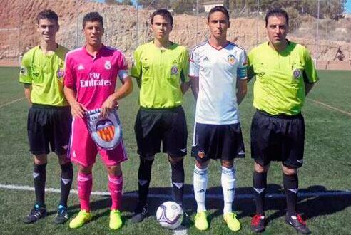 Gorka Zabarte capitán del Real Madrid cadete A