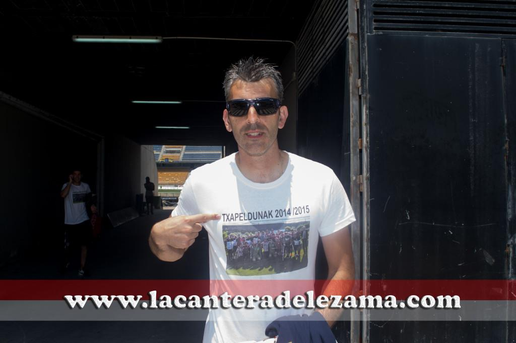 Imanol Etxeberria vuelvea segunda, esta vez como entrenador | Foto: Unai Zabaleta