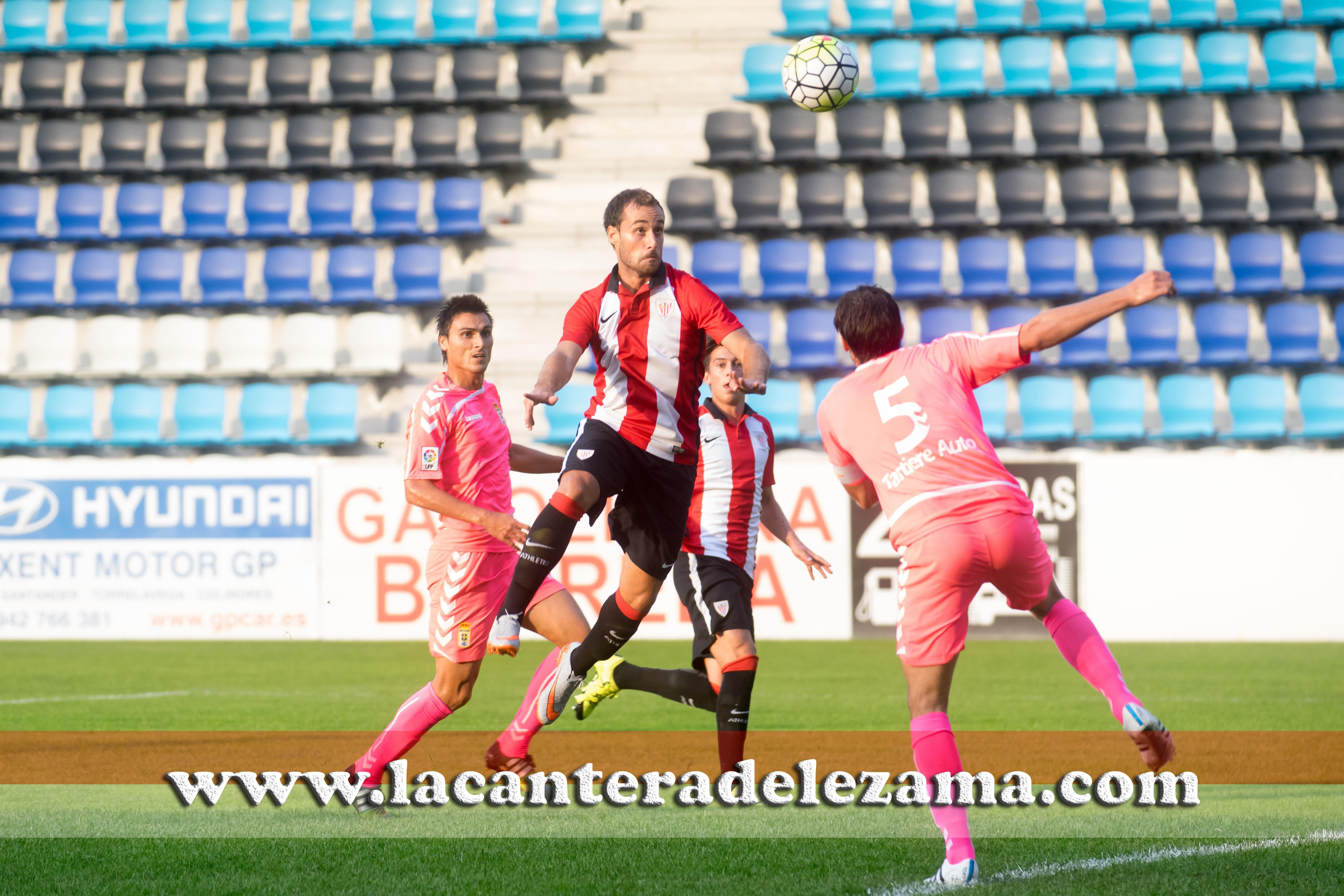 Momento del gol de Gorka Santamaria | Foto: Unai Zabaleta
