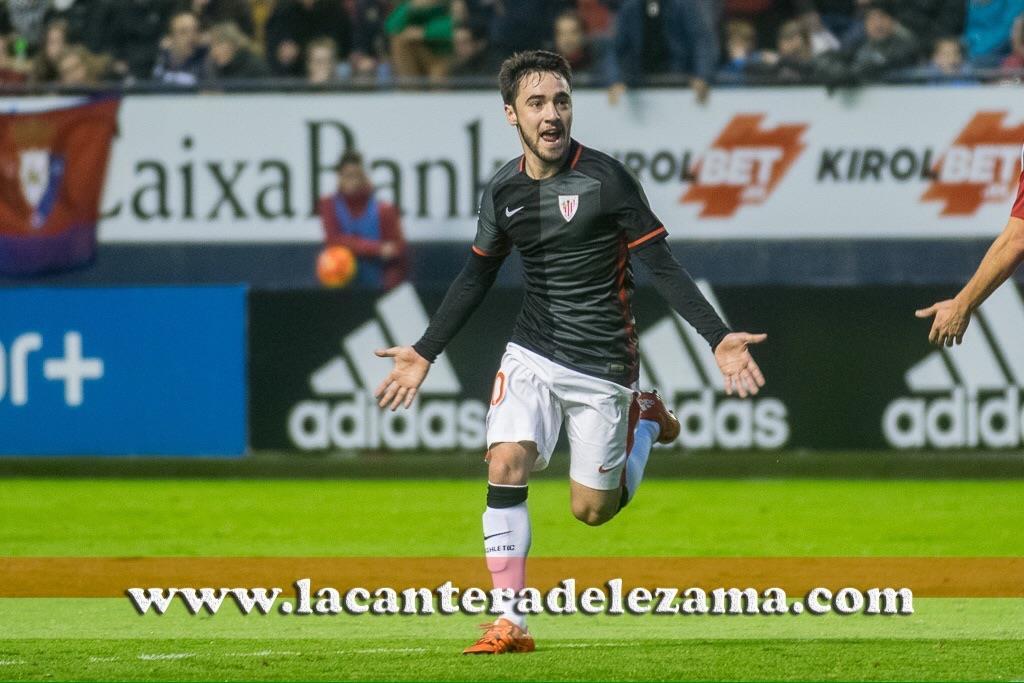 Unai López celebra el gol | Foto: Unai Zabaleta